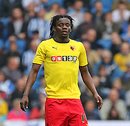 Watford Juan Carlos Paredes during the Sky Bet Championship match between Brighton and Hove Albion and Watford at the American Express Community Stadium, Brighton and Hove, England on 25 April 2015. Photo by Phil Duncan.