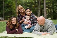 Cote family session.  ©2019 Karen Bobotas Photographer