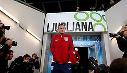 Wayne Rooney of England is photographed on arrival at The SRC Stozice Stadium ahead of the World Cup Qualifier against Slovenia - Mandatory by-line: Robbie Stephenson/JMP - 10/10/2016 - FOOTBALL - SRC Stozice - Ljubljana, England - England Press Conference