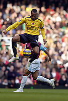 Photo: Olly Greenwood.<br />West Ham United v Arsenal. The Barclays Premiership. 05/11/2006. Arsenal's Thierry Henry