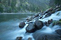 Scenic image of Salmon River, Idaho.