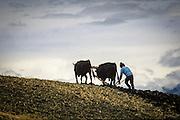 In the province of Chimborazo, Ecuador.