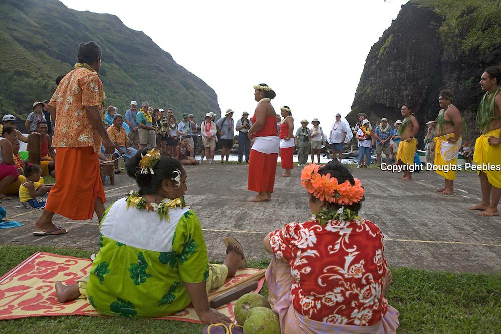 Hanavave, Island of Fatu Hiva, Marquesas Islands, French Polynesia, (Editorial use only)<br />