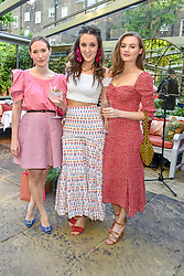 Niomi Smart, Rosanna Falconer and Alexandra Carello at The Ivy Chelsea Garden Summer Party ,The Ivy Chelsea Garden, King's Road, London, England. 14 May 2019. <br /> <br /> ***For fees please contact us prior to publication***