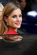 Bezoek van Koning Felipe VI en Koningin Letizia van Spanje aan Nederland.<br /> <br /> Visit of King Felipe VI and Queen Letizia of Spain to the Netherlands.<br /> <br /> Op de foto / On the Photo: Koning Felipe VI en Koningin Letizia van Spanje bezoeken Minister President Mark Rutte  ////  King Felipe VI and Queen Letizia of Spain visit the MP Mark Rutte