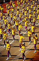 """Fit Nation"", girls of Queen Mary School, Republic Day Parade, Rajpath, New Delhi, India"