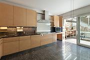 Architecture, interior of modern apartment, domestic kitchen