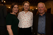 02/04/2019 Repro free:  <br /> Elaine Merrigan AIB, Martina Doohan AIB and Frank Greene, GTC Chairmanat Harvest in the Mick Lally Theatre , an opportunity to share ideas for innovation and growth and discuss how to cultivate the city as a destination for innovation, hosted by Galway technology Centre and Sponsored by AIB and The Sunday Business Post .<br />  <br />  Photo: Andrew Downes, Xposure