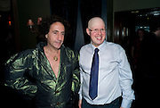 PHILIP SALLON; MATT LUCAS, Party after the opening of  'Prick Up Your Ear's'  at the Comedy theatre. Cafe de Paris. Leicester Sq. London. 30 September 2009