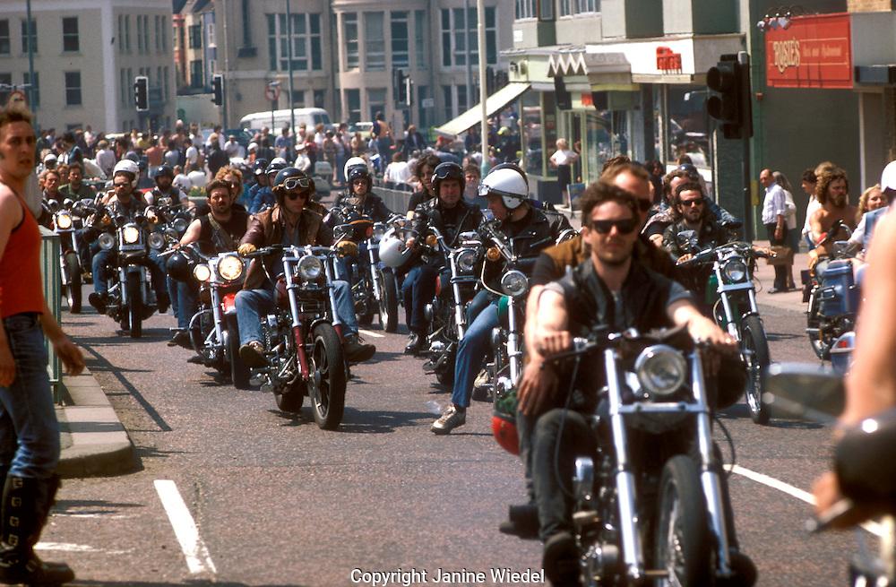 Harley Davidson Rally in Brighton.