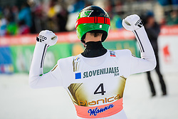 Robert Kranjec of Slovenia celebrate during Ski Flying Hill Individual Competition at Day 2 of FIS Ski Jumping World Cup Final 2018, on March 23, 2018 in Planica, Ratece, Slovenia. Photo by Ziga Zupan / Sportida