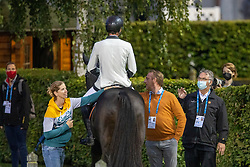 Philippaerts Olivier, BEL, Le Blue Diamond v't Ruytershof, Vermeiren Jan<br /> CHIO Aachen 2021<br /> © Hippo Foto - Dirk Caremans<br />  15/09/2021