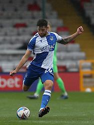 Jack Baldwin of Bristol Rovers - Mandatory by-line: Matt Bunn/JMP - 10/10/2020 - FOOTBALL - LNER Stadium - Lincoln, England - Lincoln City v Bristol Rovers - Sky Bet League One