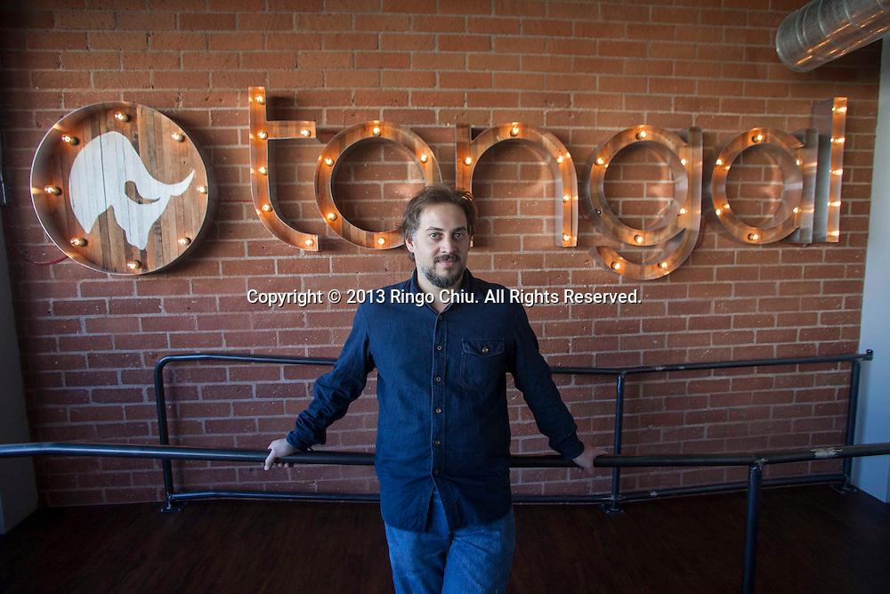 James De Julio, co-founder and CEO of Tongal. (Photo by Ringo Chiu/PHOTOFORMULA.com)
