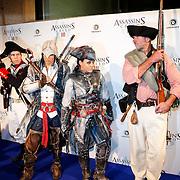 NLD/Amsteram/20121025- Lancering Assassin's Creed game,