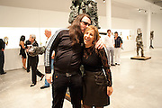 JONATHAN MEESE; BONNIE CLEARWATER, MOCA RECEPTION, Opening of ÔJonathan Meese: SculptureÔ, from the Knight Exhibition Series. Also on view: ÔBruce Weber: Haiti / Little HaitiÔ, Hosted by Bonnie Clearwater and Vanity Fair International. Museum of Contemporary Art, 770 NE 125 Street, North Miami 30 NOVEMBER 2010. -DO NOT ARCHIVE-© Copyright Photograph by Dafydd Jones. 248 Clapham Rd. London SW9 0PZ. Tel 0207 820 0771. www.dafjones.com.<br /> JONATHAN MEESE; BONNIE CLEARWATER, MOCA RECEPTION, Opening of 'Jonathan Meese: Sculpture', from the Knight Exhibition Series. Also on view: 'Bruce Weber: Haiti / Little Haiti', Hosted by Bonnie Clearwater and Vanity Fair International. Museum of Contemporary Art, 770 NE 125 Street, North Miami 30 NOVEMBER 2010. -DO NOT ARCHIVE-© Copyright Photograph by Dafydd Jones. 248 Clapham Rd. London SW9 0PZ. Tel 0207 820 0771. www.dafjones.com.
