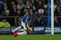Football - 2021 / 2021 Premier League - Everton vs Burnley - Goodison Park - Monday 13th September 2021<br /> <br /> <br /> <br /> Everton's Yerry Mina in action during todays match  <br /> <br /> <br /> Credit COLORSPORT/Terry Donnelly