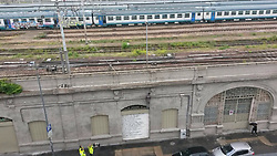 May 7, 2017 - Milan, Italy - An immigrant try to commit suicide in Milan Central Station. (Credit Image: © Mairo Cinquetti/Pacific Press via ZUMA Wire)