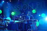 COLUMBIA, MD - May 11th,  2013 -   Passion Pit performs on the Main Stage at the 2013 Sweetlife Music and Food Festival at Merriweather Post Pavilion in Columbia, MD.  (Photo by Kyle Gustafson/For The Washington Post)