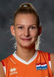 14-05-2019 NED: Photoshoot national volleyball team Women, Arnhem<br /> Indy Baijens of Netherlands