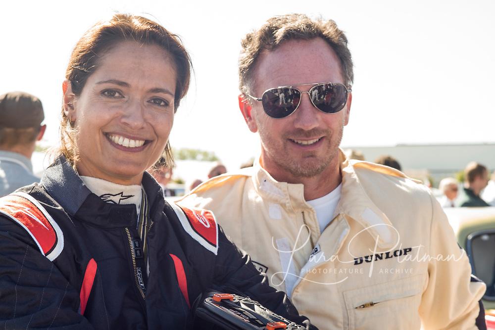 Amanda Stretton and Christian Horner Red Bull F1 team Principle