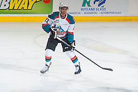 KELOWNA, CANADA - JANUARY 23: Devante Stephens #21 of Kelowna Rockets skates against the Everett Silvertips on January 23, 2015 at Prospera Place in Kelowna, British Columbia, Canada.  (Photo by Marissa Baecker/Shoot the Breeze)  *** Local Caption *** Devante Stephens;