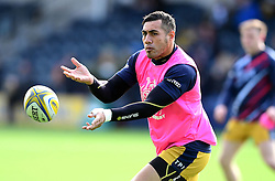 Tusi Pisi of Bristol Rugby  - Mandatory by-line: Joe Meredith/JMP - 05/03/2017 - RUGBY - Sixways Stadium - Worcester, England - Worcester Warriors v Bristol Rugby - Aviva Premiership