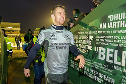 December 8, 2018 - Galway, Ireland - Matt Healy of Connacht celebrate during the European Rugby Challenge Cup match between Connacht Rugby and Perpignan at the Sportsground in Galway, Ireland on December 8, 2018  (Credit Image: © Andrew Surma/NurPhoto via ZUMA Press)