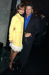 COUNTESS MAYA VON SCHONBURG and PETER SOROS at a party to celebrate the publication of Tatler's Little Black Book 2005 held at the Baglioni Hotel, 60 Hyde Park Gate, London SW7 on 9th November 2005.<br /><br />NON EXCLUSIVE - WORLD RIGHTS