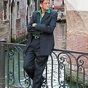 Kiran Nagarkar is an Indian novelist, playwright, film and drama critic and screenwriter both in Marathi and English, and is one of the most significant writers of postcolonial India here posing in Venice during Incontri di Civilta' ----------------------<br /> Marco Secchi/XianPix<br /> email msecchi@gmail.com<br /> http://www.marcosecchi.com
