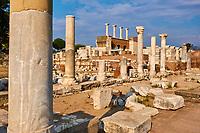Turquie, province d'Izmir, ville de Selcuk, site archéologique d'Ephese, basilique Saint Jean // Turkey, Izmir province, Selcuk city, archaeological site of Ephesus, Basilica Saint John