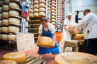 Local food producers in Emilia Romagna