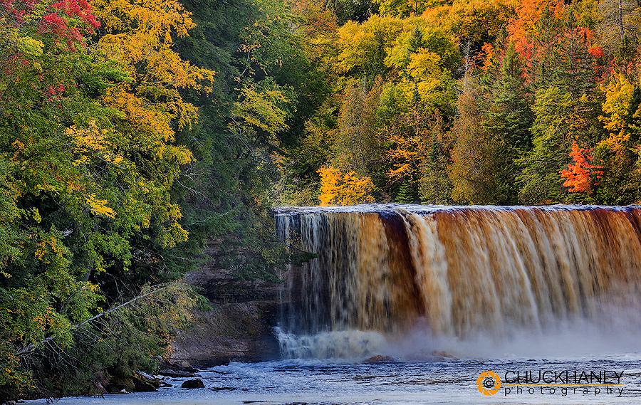 Upper Falls at Tahquamenon Falls State Park near Paradise, Michigan, USA