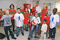 20100526: LISBON, PORTUGAL - Portuguese football star Cristiano Ronaldo visits Portuguese Oncology Institute (IPO) in Lisbon. Ronaldo also become a bone marrow doner. PHOTO: CITYFILES