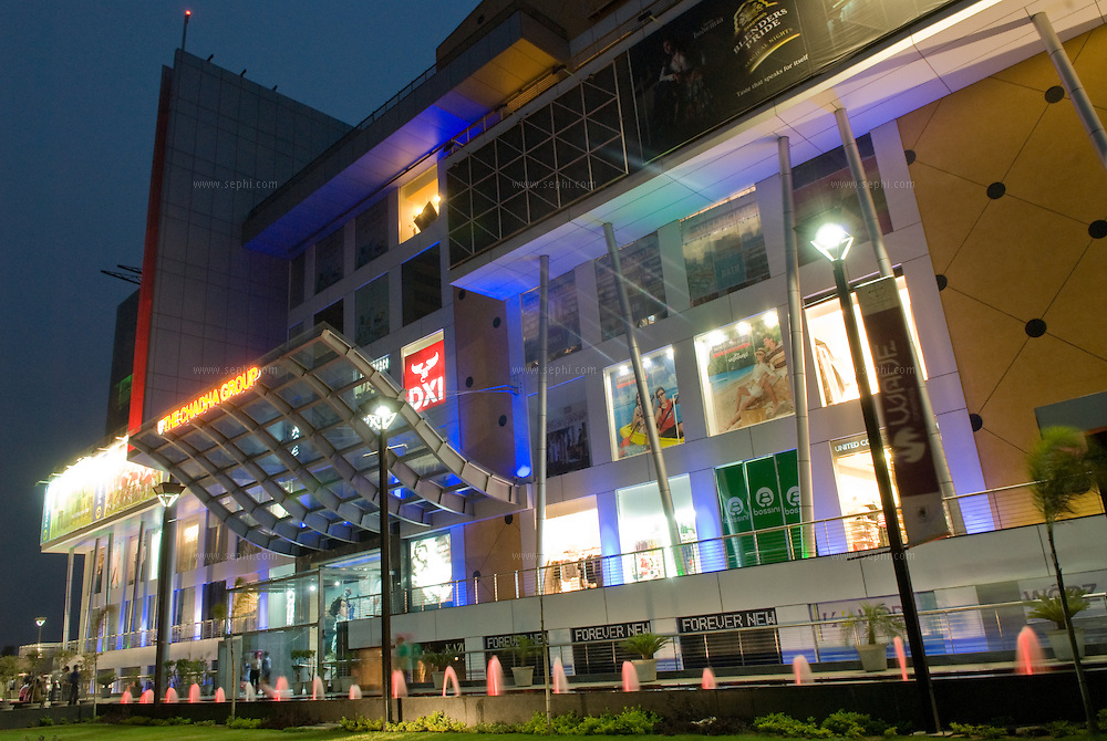 A view of Chadha Group's West End mall in Ludhiana, Punjab India