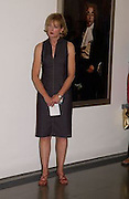 Julia Peyton-Jones, Cindy Sherman exhibition opening at  the Serpentine gallery. 2 June 2003. © Copyright Photograph by Dafydd Jones 66 Stockwell Park Rd. London SW9 0DA Tel 020 7733 0108 www.dafjones.com