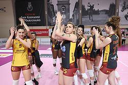 SAN GIOVANNI MARIGNANO - ROMA VOLLEY CLUB<br /> PALLAVOLO CAMPIONATO ITALIANO VOLLEY SERIE A2-F 2020-2021<br /> 07-05-2021 SAN GIOVANNI MARIGNANO (RN)<br /> FOTO FILIPPO RUBIN / LVF