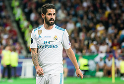Isco of Real Madrid during the UEFA Champions League final football match between Liverpool and Real Madrid at the Olympic Stadium in Kiev, Ukraine on May 26, 2018.Photo by Sandi Fiser / Sportida