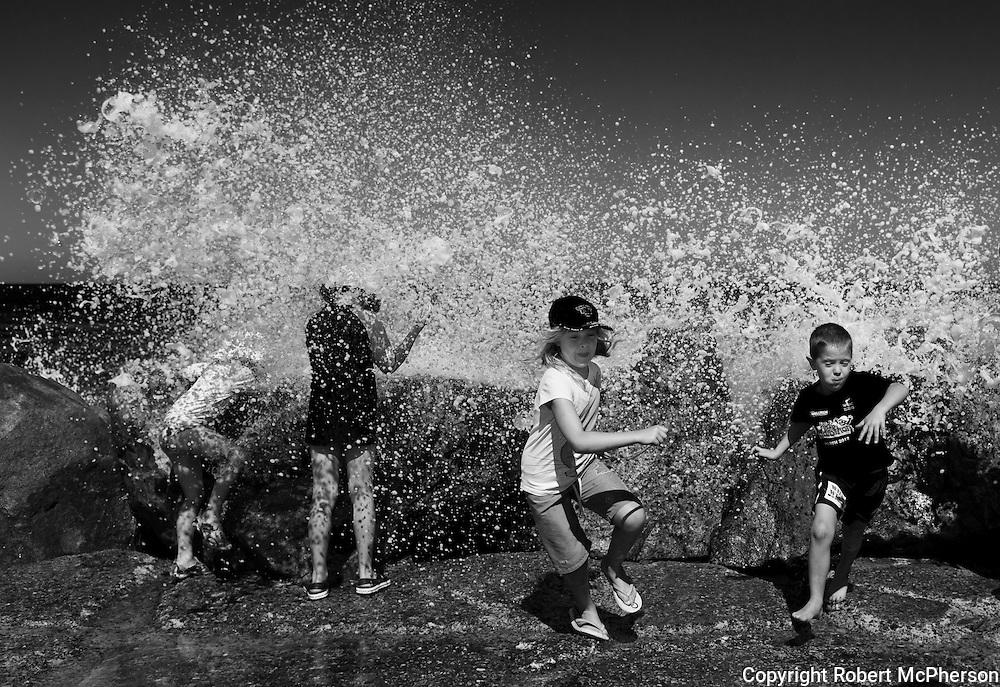 Beach culture in Western Australia. .