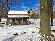 Oakland, Pittsburgh, University of Pittsburgh, log cabin, Heinz Chapel