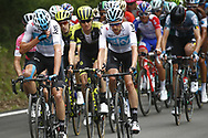 Christopher Froome (GBR - Team Sky) - Wout Poels (NED - Team Sky) during the 101th Tour of Italy, Giro d'Italia 2018, stage 10, Penne - Gualdo Tadino 239 km on May 15, 2018 in Italy - Photo Luca Bettini / BettiniPhoto / ProSportsImages / DPPI