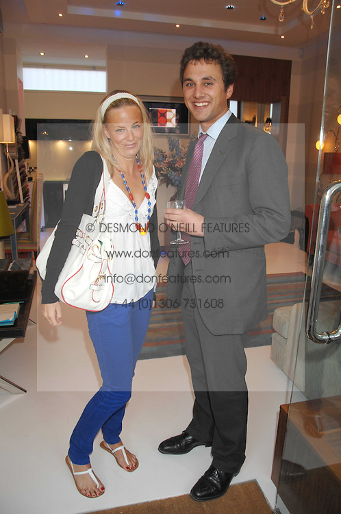 ASTRID HARBORD and THOMAS VAN STRAUBENZEE at the launch of The Rupert Lund Showroom, 61 Chelsea Manor Street, London SW3 on 2nd May 2007.<br /><br />NON EXCLUSIVE - WORLD RIGHTS