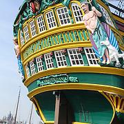 NLD/Amsterdam/20120327 - Perspresentatie de Schat van Oranje, Voc schip