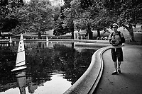 The Conservatory Water aka Sailboat Pond in Central Park