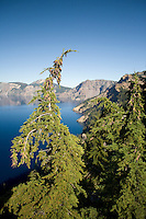 Scenic image of Crater Lake National Park, OR.