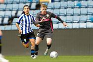 Leeds United Liam McCarron (3)  during the U23 Professional Development League match between U23 Sheffield Wednesday and U23 Leeds United at Hillsborough, Sheffield, England on 3 February 2020.
