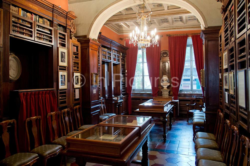 Keats Shelley museum, Rome, Italy.