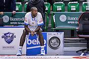 DESCRIZIONE : Beko Legabasket Serie A 2015- 2016 Dinamo Banco di Sardegna Sassari - Enel Brindisi<br /> GIOCATORE : Christian Eyenga<br /> CATEGORIA : Before Pregame Ritratto<br /> SQUADRA : Dinamo Banco di Sardegna Sassari<br /> EVENTO : Beko Legabasket Serie A 2015-2016<br /> GARA : Dinamo Banco di Sardegna Sassari - Enel Brindisi<br /> DATA : 18/10/2015<br /> SPORT : Pallacanestro <br /> AUTORE : Agenzia Ciamillo-Castoria/L.Canu