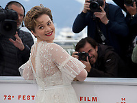 Actress Zahra Doumandji at Papicha film photo call at the 72nd Cannes Film Festival, Friday 17th May 2019, Cannes, France. Photo credit: Doreen Kennedy