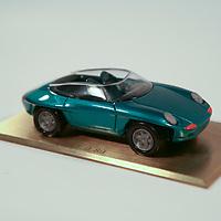 Porsche Panamericana Model Car